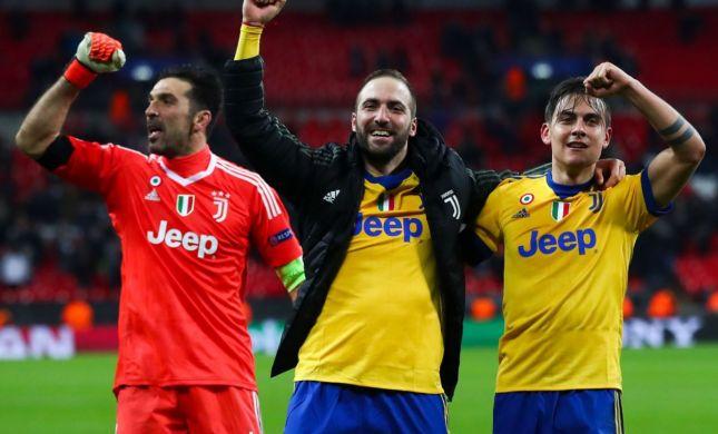 איטליה חוגגת: יובנטוס ברבע גמר ליגת האלופות