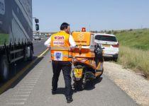 החובש בזירת התאונה- חבר הכנסת. צפו