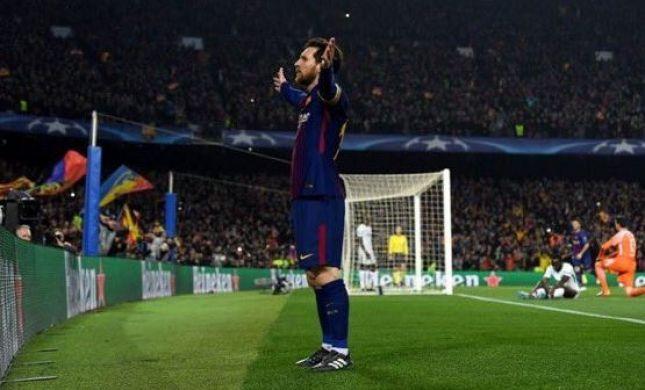 ליגת האלופות: מסי הוכיח שהוא הכוכב של ברצלונה