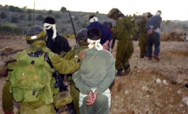 """ליל מעצרים: כוח צה""""ל עצר 7 מבוקשים ו-21 שב""""חים"""