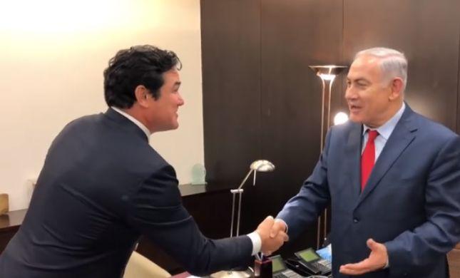 מהוליווד לכנסת: סופרמן הגיע לביקור מפתיע בישראל