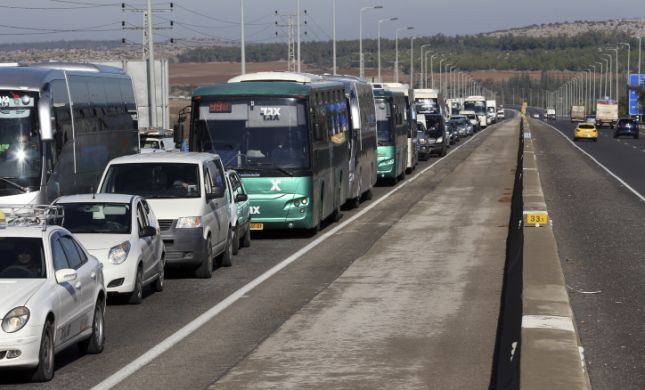 ירושלים תקועה: פקקי ענק בעקבות סגירת כבישים בעיר