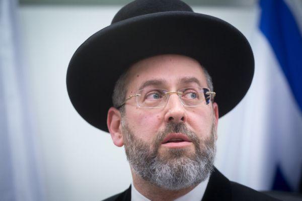 'עם כל הכבוד': הרב הראשי נגד הפסק של הרב לבנון