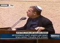 צפו: איתן כבל מברך 'הגומל' על הממשלה שניצלה בנס