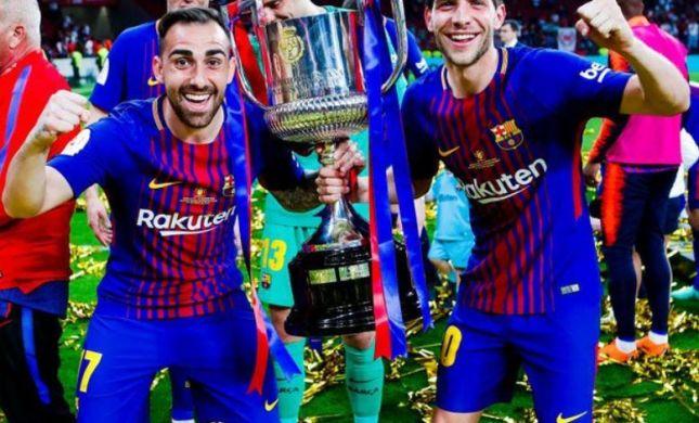 ברצלונה זכתה בגביע, מסי שבר שיא חדש. צפו