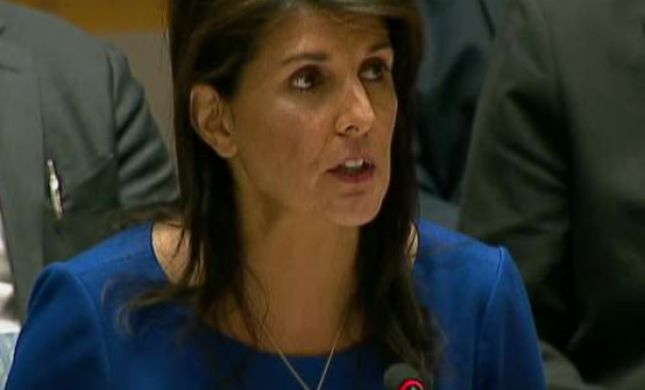 """שגרירת ארה""""ב באו""""ם: """"התקיפה הייתה מוצדקת"""""""