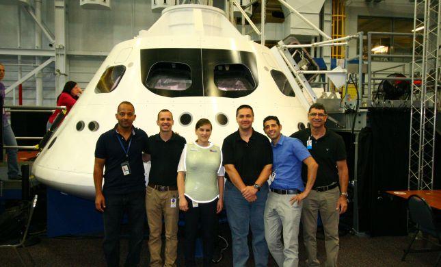 כבוד טכנולוגי: חליפת חלל ישראלית תשוגר לירח