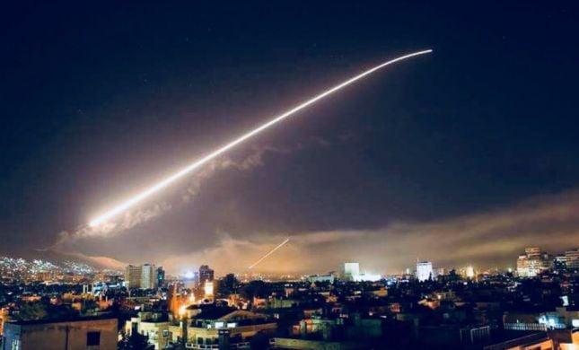 תקיפה נוספת בסוריה: טילים שוגרו לעבר בסיסי צבא