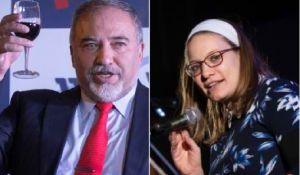 דיבור נשי, סרוגות ''מסוכן לדמוקרטיה'': סיון רהב מאיר נגד ליברמן