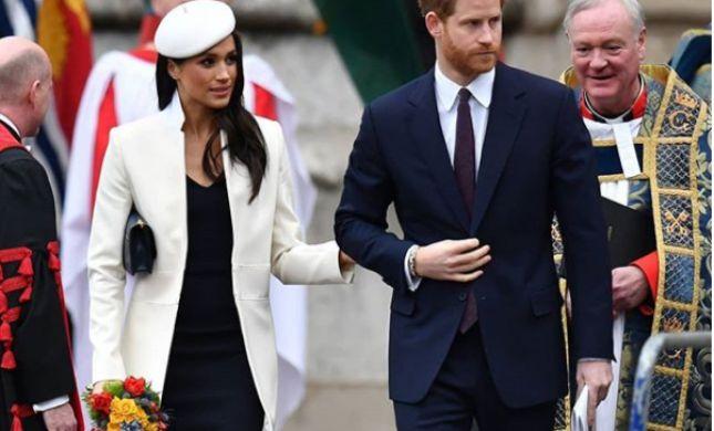 הזוג המלכותי ביקש: הצ'קים מהאורחים ילכו לצדקה