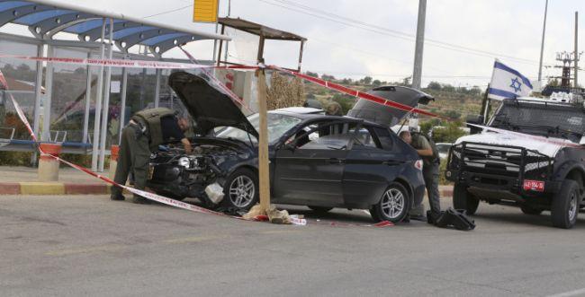 פלסטיני גנב רכב; התנגש בטרמפיאדה, נורה ונהרג