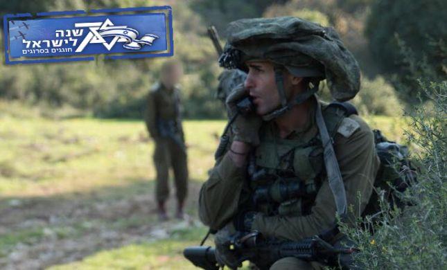 """מרגש: מפקד יחידת אגוז ידליק את משואת צה""""ל"""