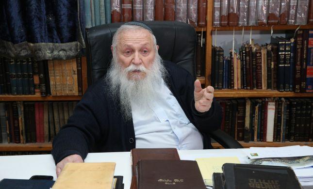 צפו: הרב חיים דרוקמן מספר על הצלתו בשואה