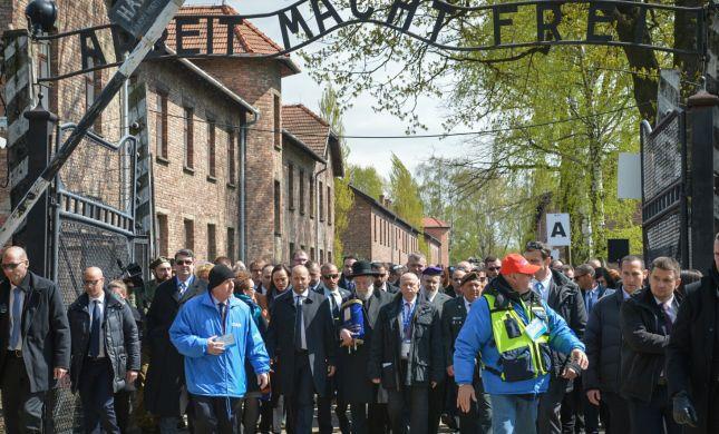 צפו: אלפי משתתפים במצעד החיים בפולין