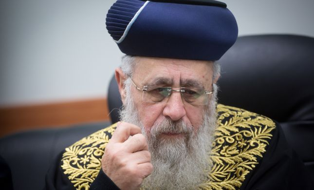 בצל הקורונה: פסק הלכה חדשני של הרב יצחק יוסף