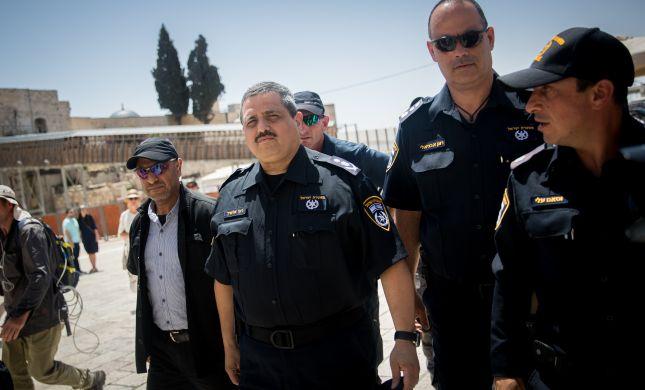 """אלשיך יוצא להגנת השוטר: """"ההפגנה הייתה אלימה"""""""