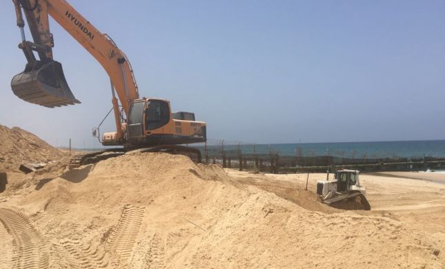 מכשול ימי בגבול עזה ימנע ממחבלים לחדור לישראל