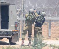 """חדשות, חדשות צבא ובטחון, מבזקים אש נפתחה לעבר כוח צה""""ל; טנק תקף עמדות חמאס"""