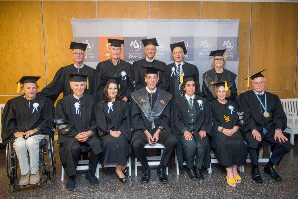 אוניברסיטת בר-אילן העניקה 'דוקטור לשם כבוד' לשורת אישים