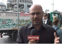 נמלטו בנס: צוות 'החדשות' הותקפו בטורקיה