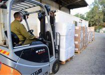 אחרי יממה של עימותים: ישראל מעבירה סיוע הומניטרי לעזה