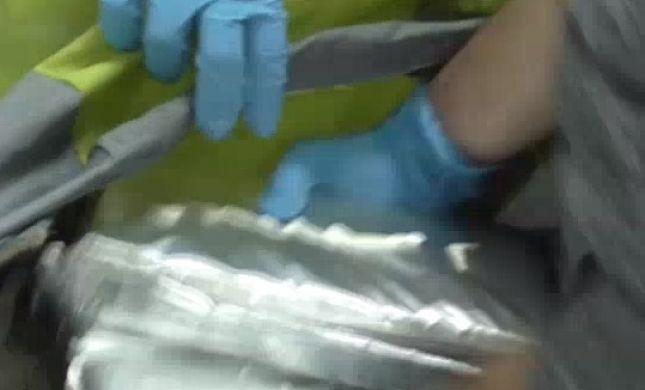 """תיעוד: נכדו של ח""""כ הבריח 9 ק""""ג קוקאין לישראל"""
