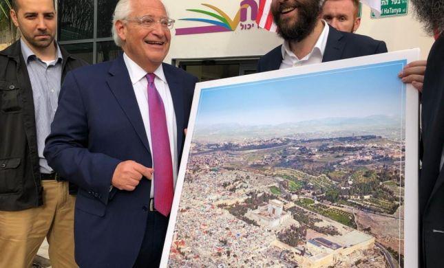 ה'פלסטינים' זועמים על תמונה שפרסם פרידמן