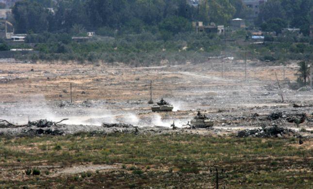 """מחבלים הציתו עמדה- צה""""ל תקף באש טנקים"""