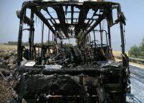 נמנע אסון כבד: אוטובוס של תלמידי ישיבה תיכונית נשרף