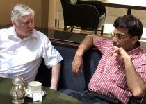 שחמט למתקדמים: אנאנד וקרפוב בראיון מיוחד לסרוגים