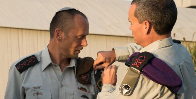 """כבוד למגזר: מח""""ט סרוג לחטיבת גולני"""