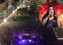 אחדות בכיכר: רבבות הגיעו לחגוג ניצחון עם נטע ברזילי