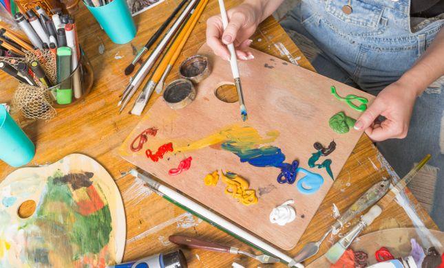 האמנות בוערת בך? תואר ראשון בדרך להגשמת חלום