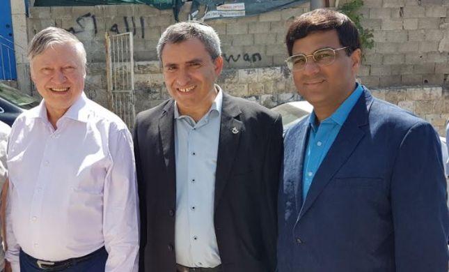 """השר זאב אלקין: """"לקדם את ירושלים זה ערך לאומי"""""""