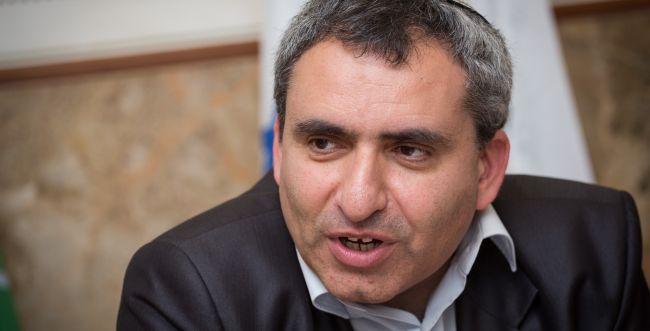 רשמית: זאב אלקין מתמודד על ראשות עיריית ירושלים