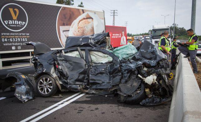 """ההרוג בתאונה בכביש החוף: חייל צה""""ל בן 19"""