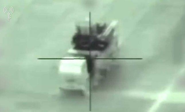 צפו: כך הושמד משגר סורי שירה לעבר מטוסינו