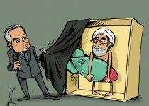 קריקטורה: נתניהו חושף את סודות הגרעין האיראני
