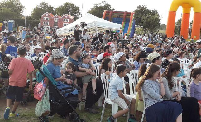 אלפים בחגיגות ההצדעה לגרעינים התורניים של רשת שעלים