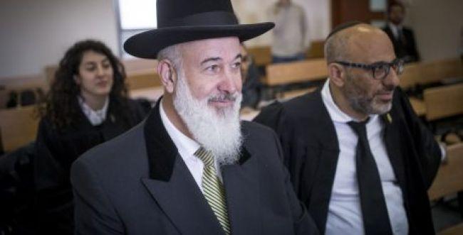 הרב יונה מצגר הגיש לנשיא בקשת חנינה