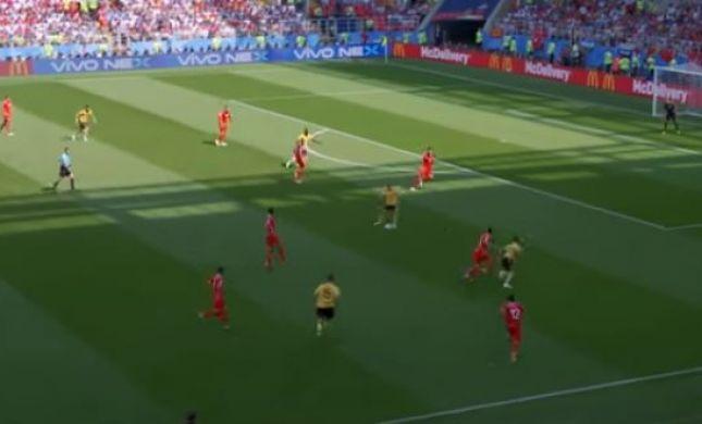 המשחק הכי פורה במונדיאל: בלגיה מחצה את תונסיה