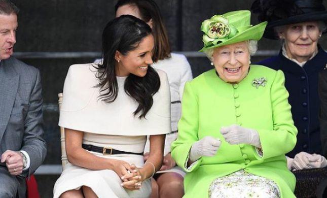 החברות החדשות בממלכה? מייגן והמלכה אליזבת מבלות