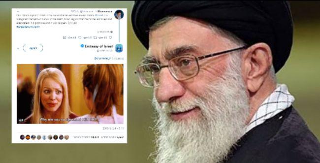 הרשת בהלם: התגובה הקורעת של ישראל לחמינאי