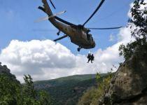 צפו: לוחמי 669 מחלצים מטייל שנפל מגובה רב בגולן