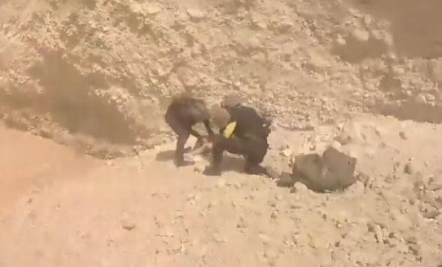 תיעוד דרמטי: חילוץ הנערים באסון השטפון. צפו