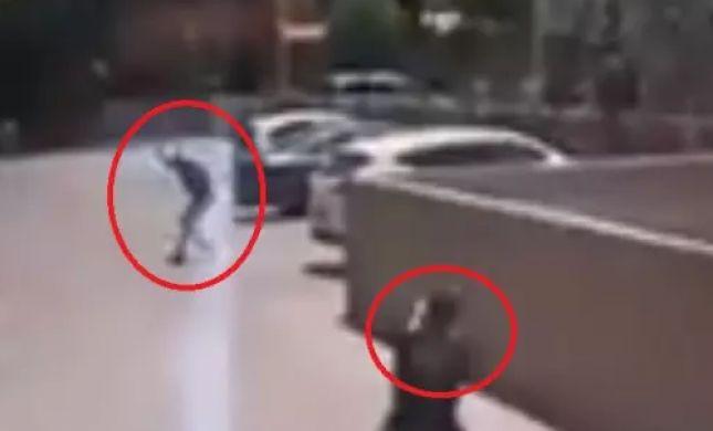 תיעוד דרמטי: הירי המדוייק שמנטרל את המחבל. צפו