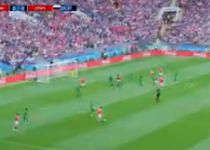 רוסיה ניצחה 5-0 במשחק הראשון של המונדיאל. צפו