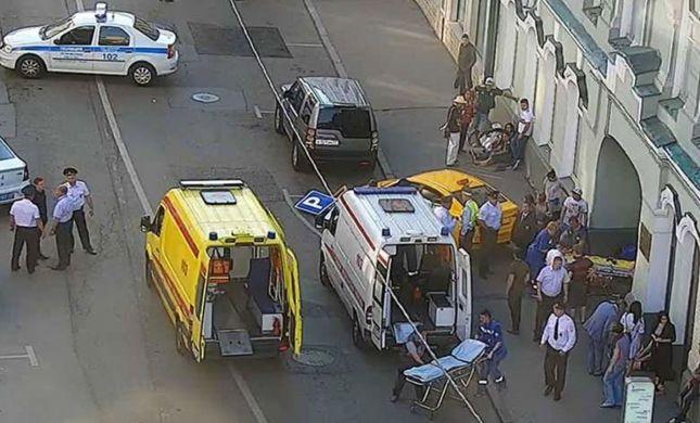 בזמן המונדיאל: 8 פצועים באירוע דריסה במוסקבה