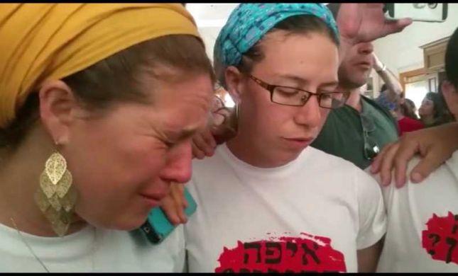בשירה ובדמעות: תושבי נתיב האבות מפונים מביתם