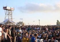 ערב הפינוי: אלפים בעצרת מחאה בנתיב האבות